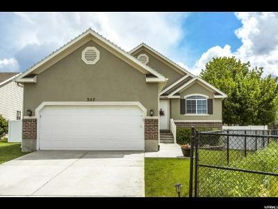 Draper Single Family Home Backup: 347 W Bubbling Brook Ln S