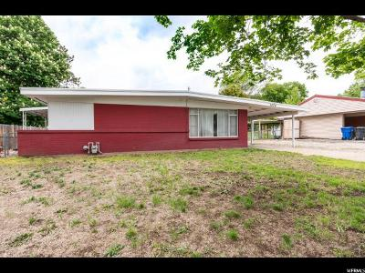 Davis County Single Family Home Under Contract: 1474 N 250 W