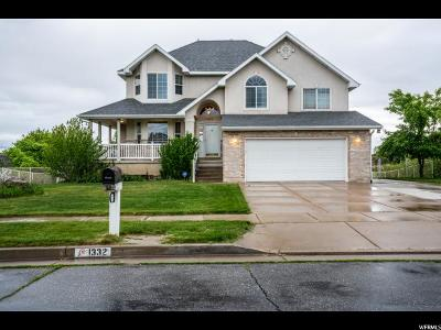 Syracuse Single Family Home For Sale: 1332 S Gleneagle Dr