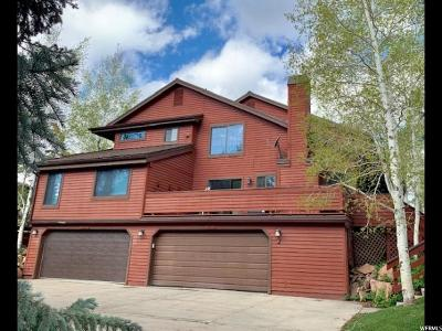 Park City Townhouse For Sale: 3121 Elk Run Dr