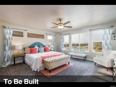 Eagle Mountain Single Family Home For Sale: 8690 N Oakmomt Aly E #I67