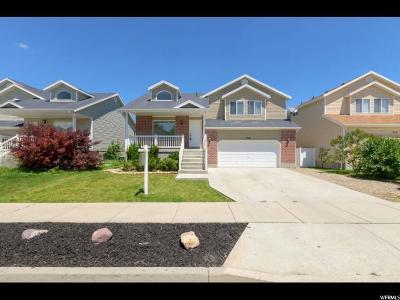 Draper Single Family Home Under Contract: 268 W Bricker Rd S