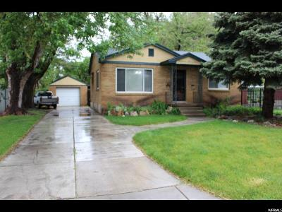 Ogden Single Family Home Under Contract: 1342 Cross St