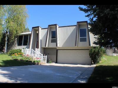 South Ogden Single Family Home Backup: 809 E Vista S