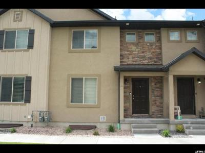 Spanish Fork Townhouse Under Contract: 1921 E 280 S