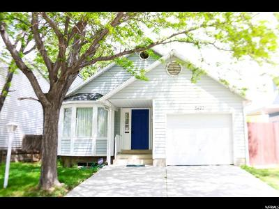 West Jordan Single Family Home Under Contract: 8493 S 3200 W