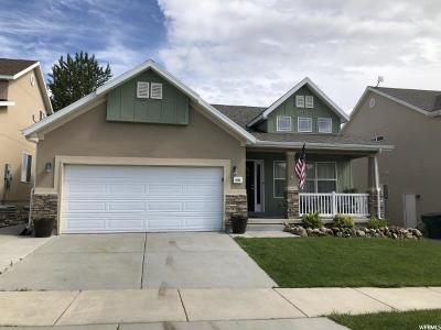 West Jordan Single Family Home For Sale: 6646 W Brook Maple Way S