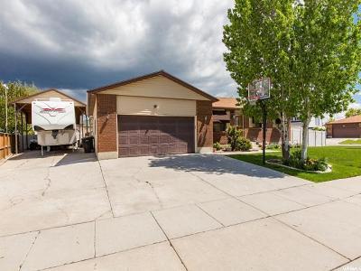 West Jordan Single Family Home For Sale: 7095 S 3075 W