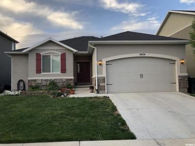 Herriman Single Family Home For Sale: 5454 W Meadow Side Dr N