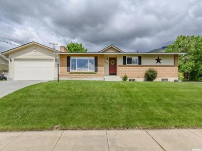 Kaysville Single Family Home For Sale: 1098 N Bedford Dr