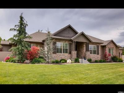 West Jordan Single Family Home For Sale: 9278 S Hidden Peak Dr
