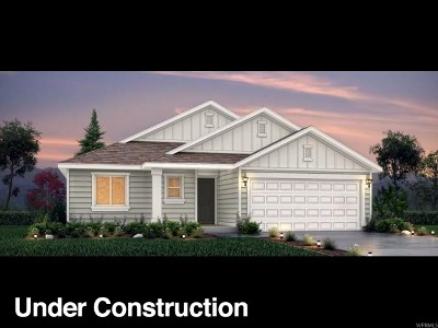 Bluffdale Single Family Home Under Contract: 1126 W Cantle Dr #118