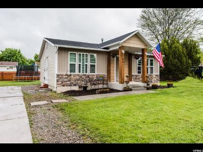 Smithfield Single Family Home Under Contract: 165 W 360 N
