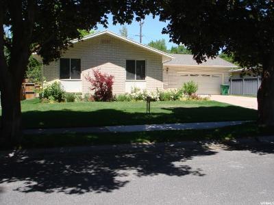 Logan Single Family Home For Sale: 1697 E 1460 N