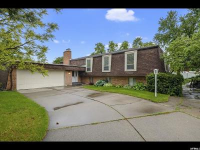 Fruit Heights Single Family Home For Sale: 1480 Waterfall Way