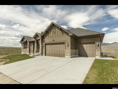 Heber City Single Family Home For Sale: 380 Keetly Station Cir