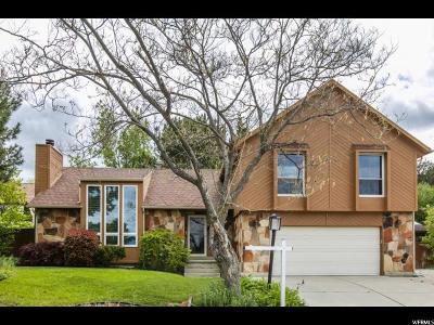 Sandy Single Family Home For Sale: 1992 E Falcon Hurst Cir #24