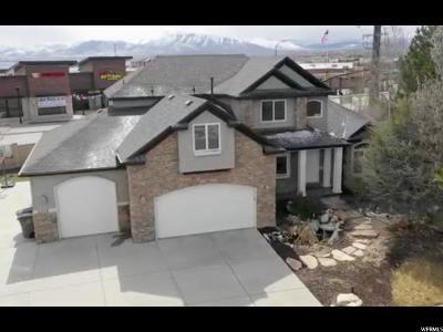 South Jordan Single Family Home For Sale: 11378 S Via Arboles Ct W