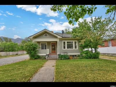 Brigham City Single Family Home Backup: 246 N 100 W