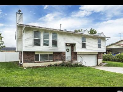Orem Single Family Home For Sale: 1063 W 1420 N