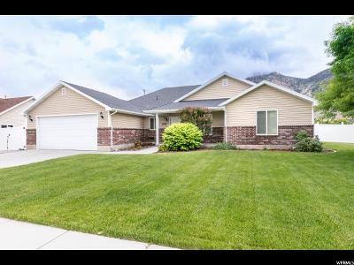Brigham City Single Family Home Under Contract: 1456 N 725 W