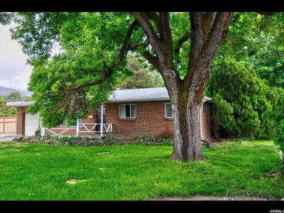 Cottonwood Heights Single Family Home For Sale: 7655 S Steffensen Dr