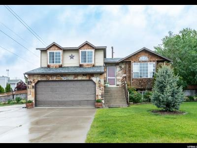 Roy Single Family Home For Sale: 3184 W 5875 S