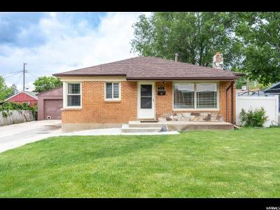 Ogden Single Family Home For Sale: 751 N Robins Ave W