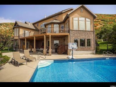 Layton Single Family Home For Sale: 3586 N Layton Ridge Dr