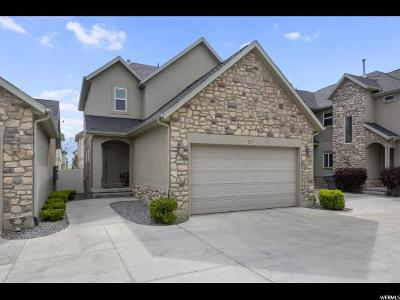 South Jordan Townhouse For Sale: 1629 W Wynview Ln S