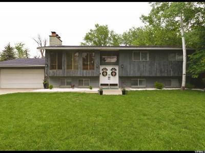 Holladay Single Family Home Under Contract: 2115 E Howey Dr S