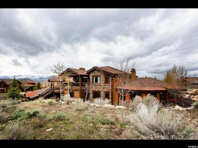 Park City Single Family Home For Sale: 2658 Cliffrose Ct