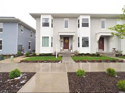 South Jordan Townhouse For Sale: 5211 South Jordan Pkwy W