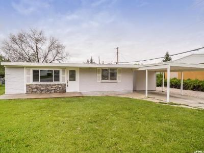 Ogden Single Family Home For Sale: 1069 N Monroe Blvd