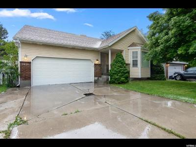 West Jordan Single Family Home For Sale: 7821 S Palladium Dr