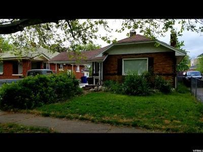Ogden Single Family Home For Sale: 578 E 32nd St