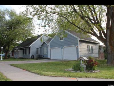 Logan Single Family Home Under Contract: 1191 N 600 E