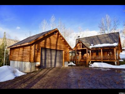Wasatch County Single Family Home Backup: 4083 Elk Dr #1923