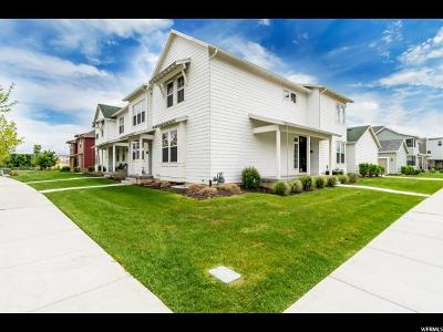 South Jordan Townhouse For Sale: 4557 W Vermillion Dr S