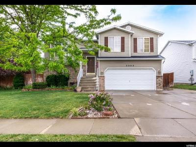 Layton Single Family Home For Sale: 2502 W 1325 N
