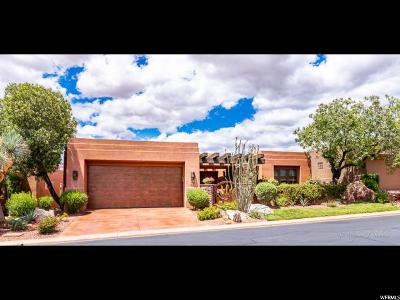 St. George Single Family Home For Sale: 2410 W Entrada Trl #24