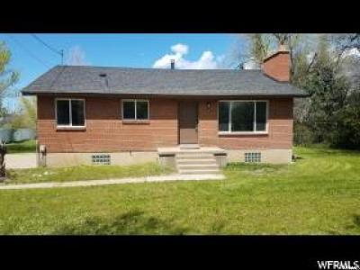 South Weber Single Family Home Under Contract: 2110 E 7400 S