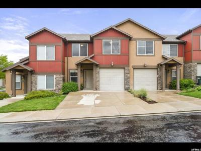 Herriman Townhouse For Sale: 14461 S Stone Stream St W