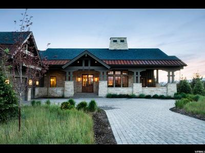 Park City Single Family Home For Sale: 7667 N Fire Ring Glade