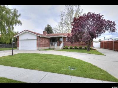 Midvale Single Family Home For Sale: 366 E 6815 S