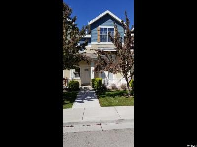 Herriman Townhouse For Sale: 5062 W Fortrose Dr N