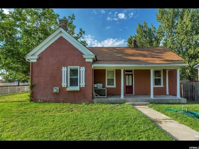 Single Family Home For Sale: 388 W 100 S