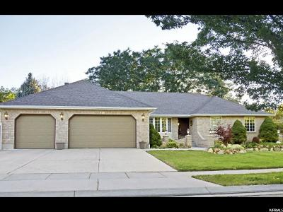 South Jordan Single Family Home For Sale: 9464 S Wheat Leigh Ct