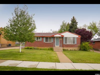 Roy Single Family Home For Sale: 2045 W 6075 S