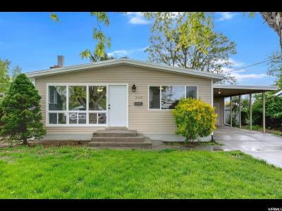 American Fork Single Family Home For Sale: 240 N Robinson Ave E